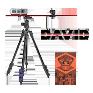 david 3d scanner